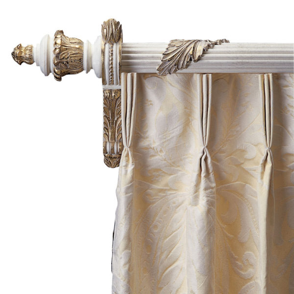 Acanthus Reeded Pole