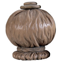 Fabric Ball Finial