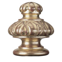 Leaf & Gadroon Finial