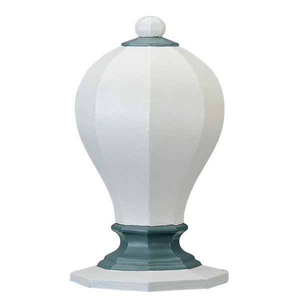 Octagon Finial