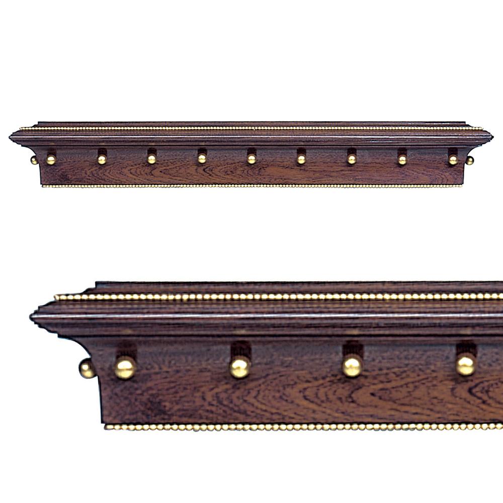 Regency pelmet edward harpley for Wooden curtain pelmets