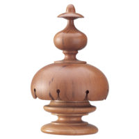 Scalloped Cover Finial