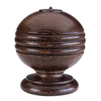 Simple Ball & Rib Finial