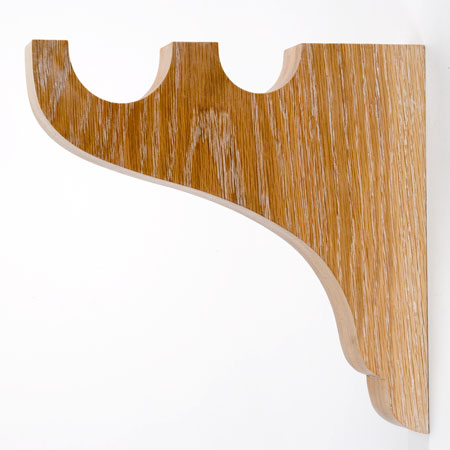 Wood Curtain Rods And Brackets Wood Curtain Rod Wall Brac