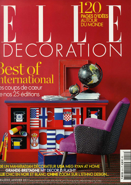 Elle decoration france january 2011 edward harpley for Elle decoration france