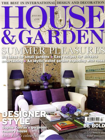 House & Garden – July 2011