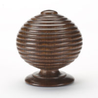 Ribbed Ball Finial