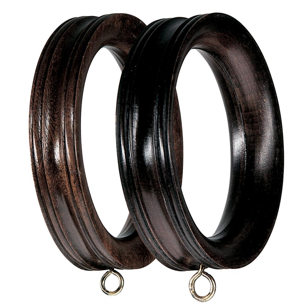 5 band profile curtain pole rings