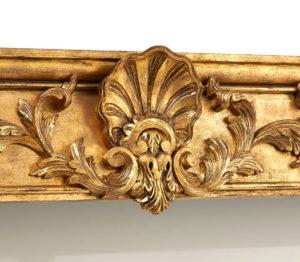 Bowood pelmet, centrepiece detail
