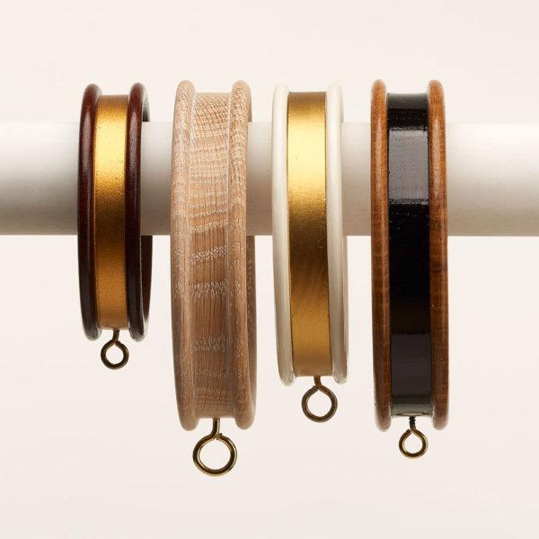 Flat band rings
