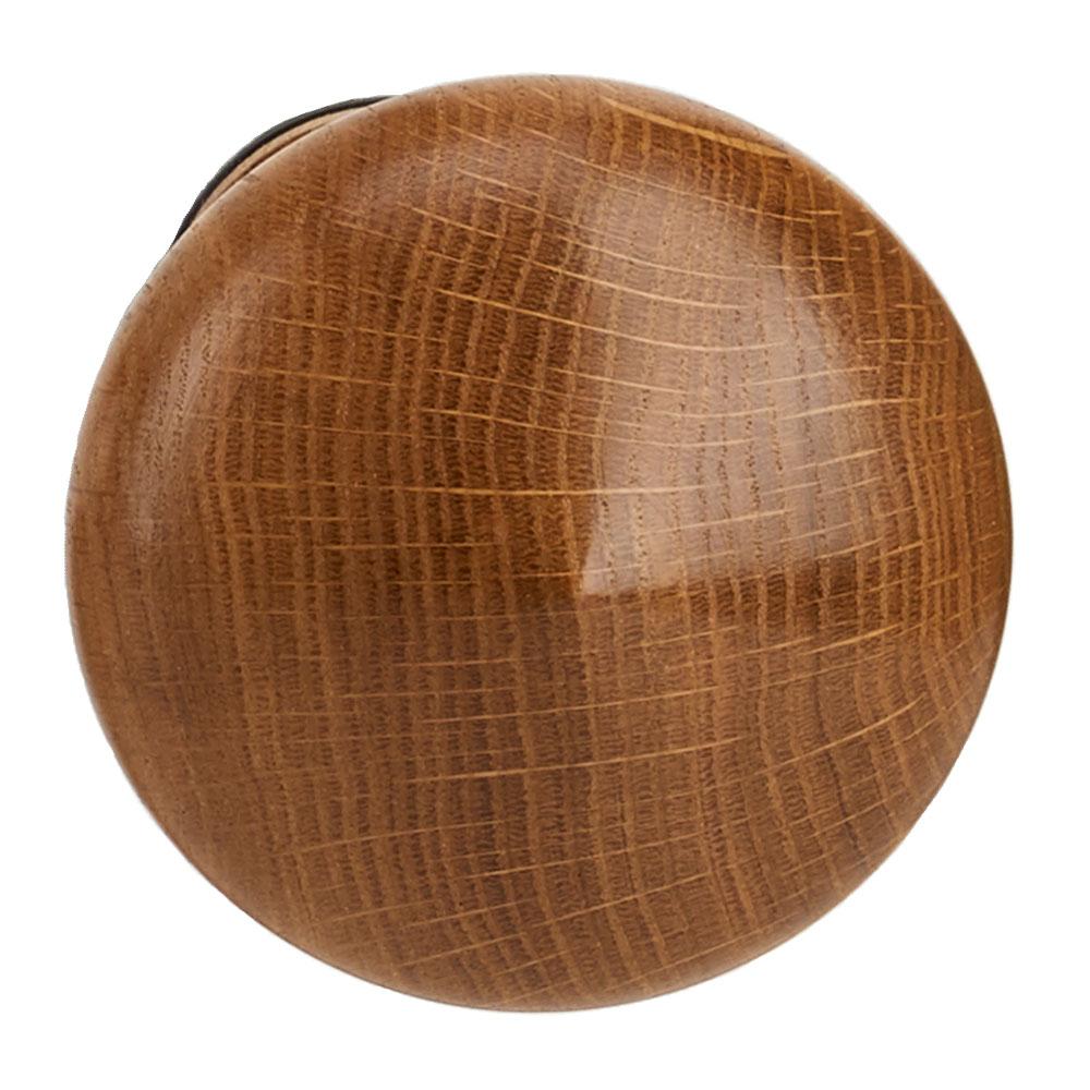 Mushroom tieback, mahogany