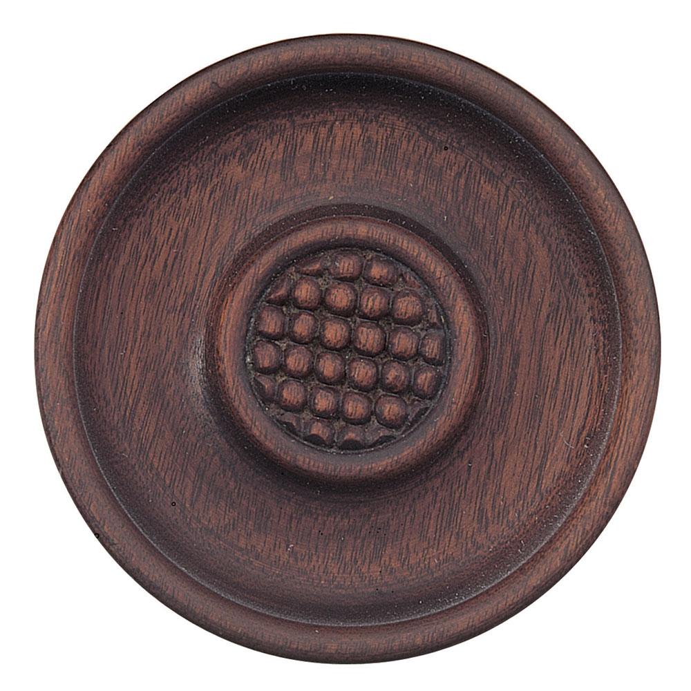 Regency tieback, mahogany