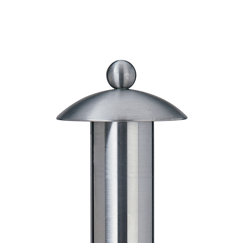 Ball Top finial, steel